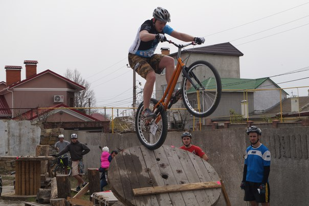 В Крыжановке прошел этап Кубка Украины по велотриалу