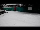 нива уборка снега
