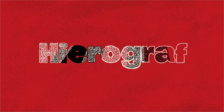 Download hierograf font (typeface)