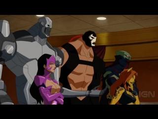 Трейлер. Лига справедливости: Гибель (2012) |Оригинал|