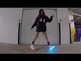 Танцует Шафл / Shuffle + светящиеся кроссовки [vk.com/poshumime]
