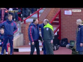 Великолепное падение Луи ван Гала в матче против