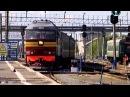 Россия из окна поезда. Нефтяные поля