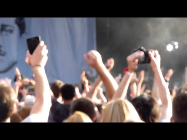 Franz Ferdinand - Take Me Out \ Ulysses @ Пикник Афиши 2012