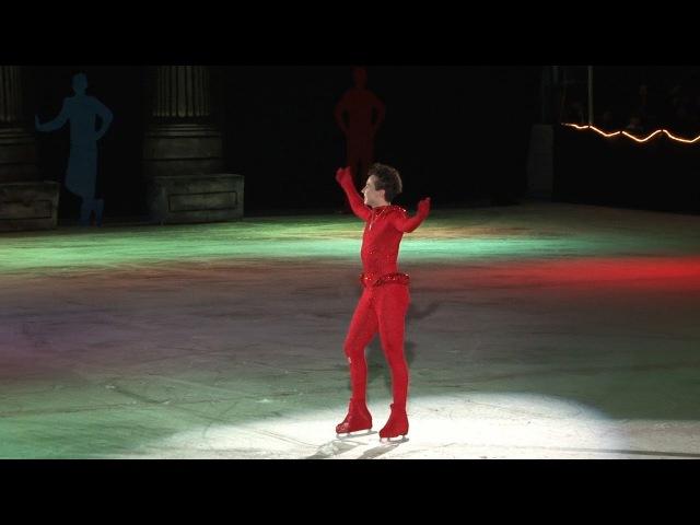 Johnny Weir, Beyoncé Medley Art2Skate, 04-15-2016, Alternate Camera Angle