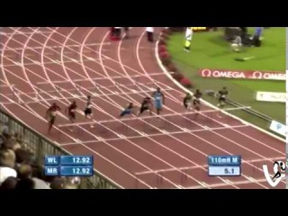 Aries Merritt 110m Hurdles 12.80s World Record