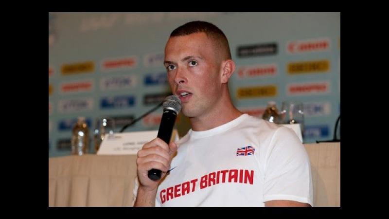 Richard Kilty 6.50s 60m Jablonec Indoor Gala 2016