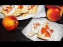 Слойки с Персиками и Сливочным Сыром ♥ Рецепты NK cooking