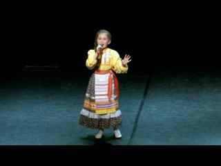 Полина Чиркина (9 лет), конкурс «Детская Новая волна 2013» (отбор)