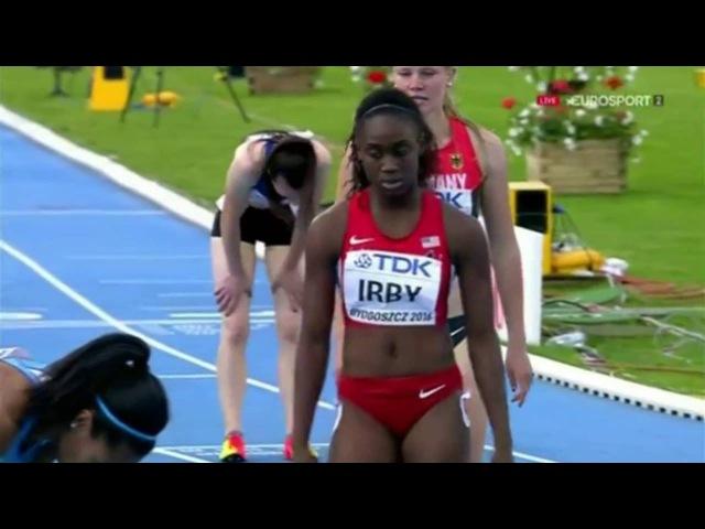 Semi Final 1 Women's 400m IAAF World Junior Championships, Bydgoszcz 2016