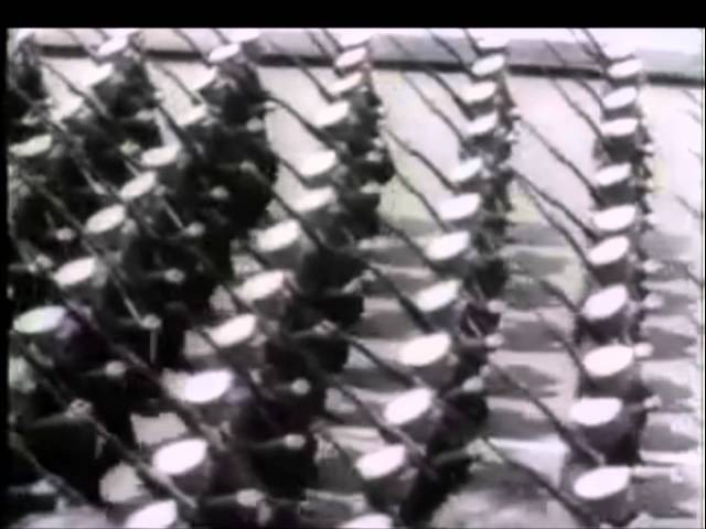 American Hell March for Japan (WW2 military parade)