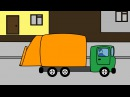 Мультик про мусоровоз. Мультик про машинки для детей. Развивающий мультфильм.