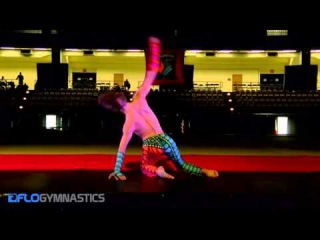 Contortionist Alexey Goloborodko Performs at International Gymnix
