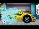 Car Wash and Spa Part 3 | Car Wash games for Kids | Video for Children