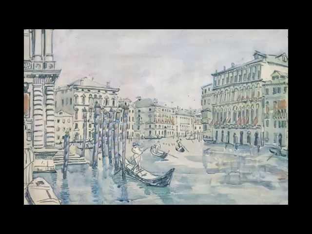 Русская художница Остроумова-Лебедева Анна Петровна (1871-1955)