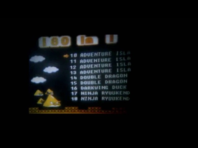 Nes, Famicom, Dendy Проектор. (PGS - 180 in 1) RareShop
