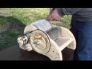 Кардер барабанный для шерсти V2