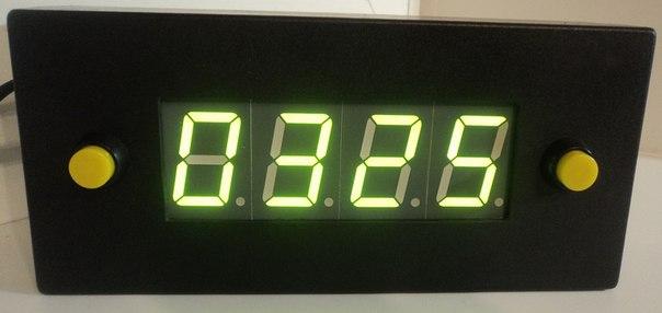 Часы светодиодные своими руками