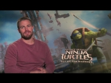 Stephen Amell Talks Arrow and Pressure of Playing Casey Jones in TMNT 2