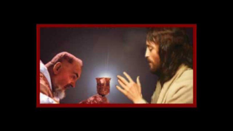 Bénédiction du Saint Padre Pio