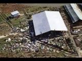 NBC News archive footage of Jonestown