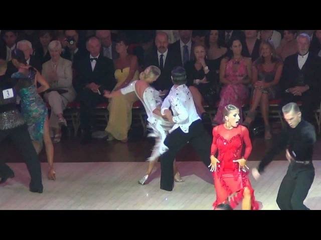 Blackpool Dance Festival 2012 Samba semi-final Amateur Latin Pasha Pashkov and Daniella Karagach