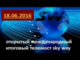 Открытый Международный Итоговый ТелеМост SkyWay 18 06 2016
