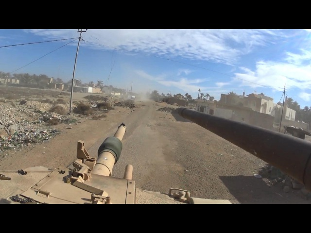 Iraq War 2016 GoPro Combat Footage During Operation on the Outskirts of Ramadi