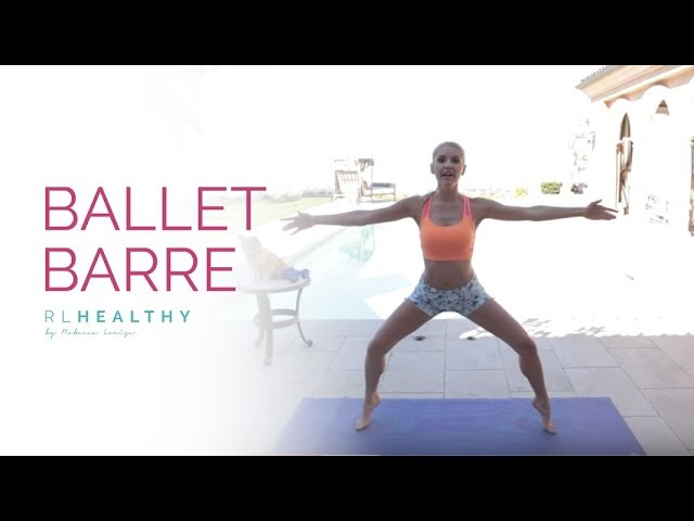 Тренировка барр с гантелями с Ребеккой Луиз. Barre Workout with Weights | Rebecca Louise