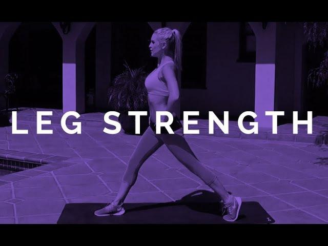 Силовая для ног с Ребеккой Луиз. Leg Strength | Rebecca Louise