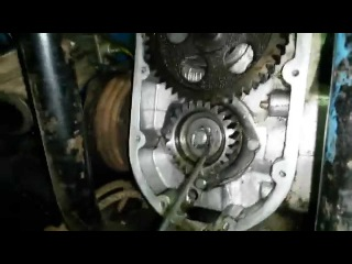 мотоцикл Урал проверка фаз ГРМ ч.2