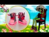 Как сделать КЕДЫ (КРОССОВКИ) для кукол Monster High, Barbie  Muza Rukodeliya