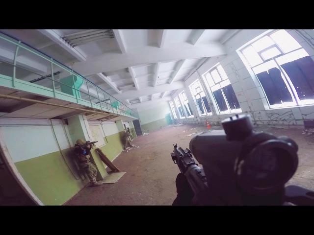 G&G - rk 104 evo blowback Страйкбол [Разминирования - Борьба за конусы] Квант К.С.Ц airsoft gameplay