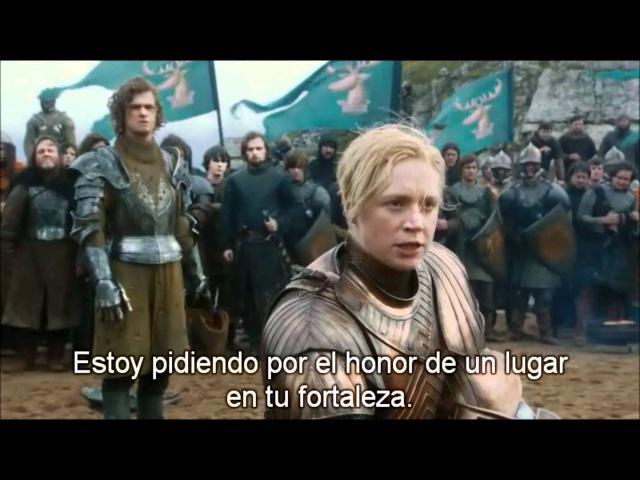 Brienne of tarth vs the flowers knight ( hd 1080p)