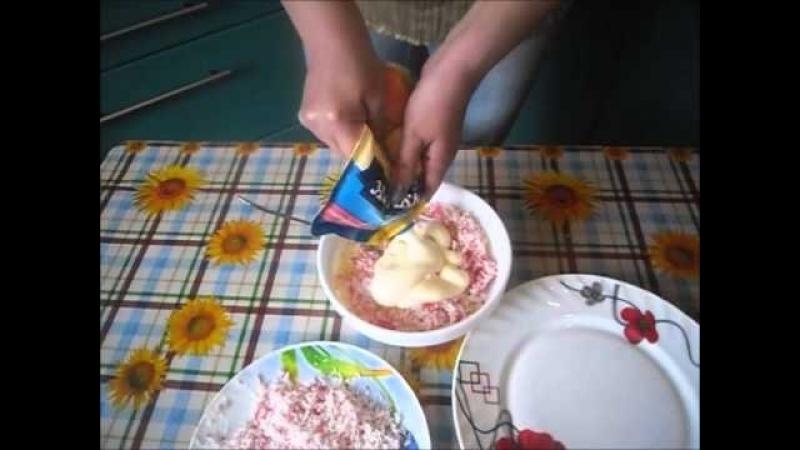 Крабовые шарики с сыром и яйцами