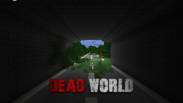 карта город зомби апокалипсис для майнкрафт 1.7.10 #10