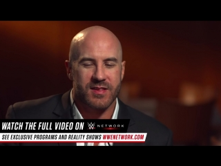 Cesaro reveals he sows his own gear on WWE Unfiltered, only on WWE Network