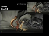 Ледниковый период 3 Эра динозавров/Ice Age: Dawn of the Dinosaurs (2009) Прорисовка сцены