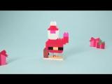 Новый год с LEGO® DUPLO® строим Деда Мороза!