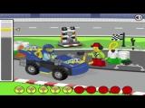 ✔ Мультик игра про МАШИНКИ LEGO City ГОНКА LEGO® JUNIORS Развивающее видео