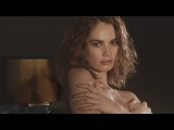 Lily James on oozing sex appeal for My Burberry Black campaign