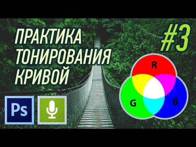 ПРАКТИКА ТОНИРОВАНИЯ КРИВЫЕ В PHOTOSHOP 3