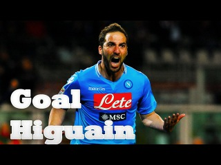 Goal Gonzalo Higuain in the match Napoli 2:1 Inter | Гол Гонсало Игуаин Наполи 2:1 Интер
