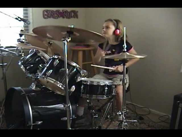 ACDC Highway To Hell A Drum Cover By Emily