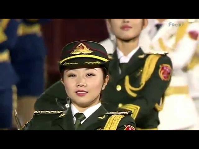 中國儀仗女兵國際軍樂節閉幕表演
