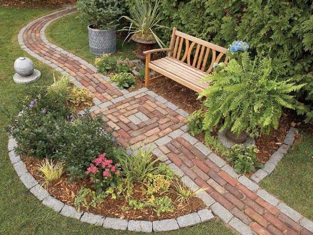 Как придать форму садовому участку