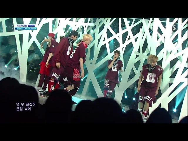 [엑소 EXO] - 늑대와 미녀 Wolf @인기가요 Inkigayo 130721