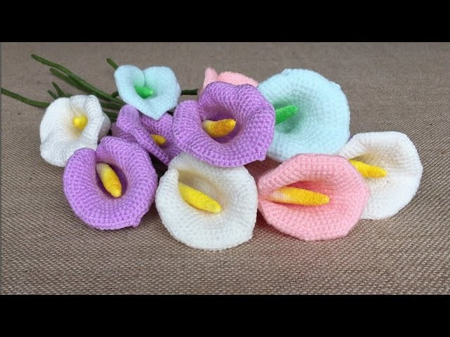 How To Crochet A Calla Lily