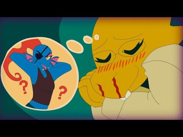 Приоритеты Альфис На Месте   Alphys has her priorities in place (Undertale Animation) (Rus Dub)