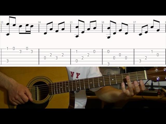 Scorpions - Wind Of Change - Разбор на гитаре | Алексей Обечайка